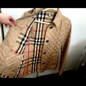 SALE- Burberry Diamond Quilted Jacket $440